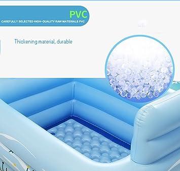 Bañera hinchable portátil bañera adultos plegable piscina adultos ...