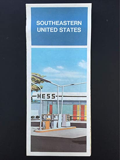 Amazon.com : 1975 Hess Southeastern United States Road Map ...