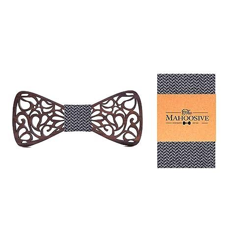 Keliour-tie Corbatas de Lazo para Hombre Artículos de carpintería ...