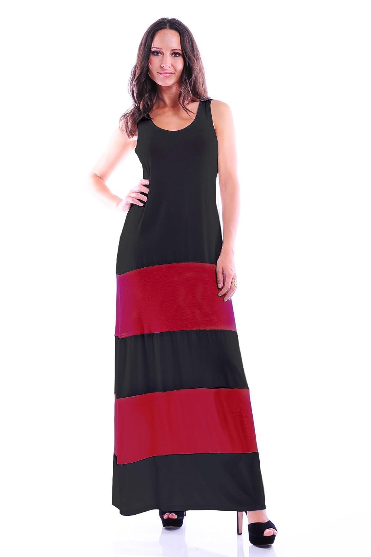 Simply Ravishing Womens Full-Length Maxi Dress Tank Dress