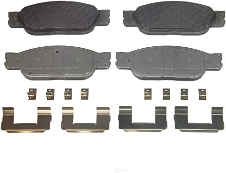 Front And Rear Ceramic Brake Pads Set For 2002 2003 2004 2005 Ford Thunderbird