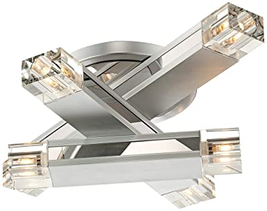 possini euro design lighting. Possini Euro Design Three Stacked Rods Ceiling Light Fixture Lighting L