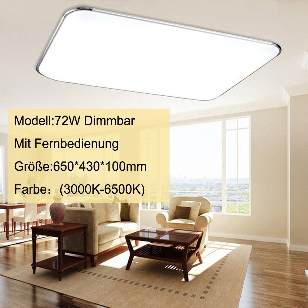 Beleuchtung 12W 18W 24W 36W 64W 72W LED Panel Deckenleuchten Für ...