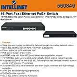 Intellinet 16Port PoE+ Fast Ethernet Rackmount Switch (560849) by Intellinet