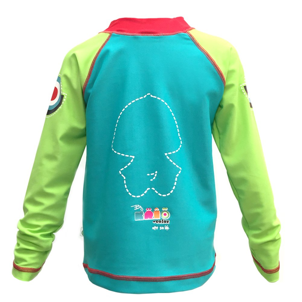 KRIO COLOR Anatra Water Ski Boy Long Sleeve UPF 50 Rash Guard Swimsuit