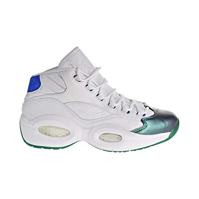 Reebok Question Mid Curren y Jet Life Men s Shoes Stem Green Vital Blue  18b98e099