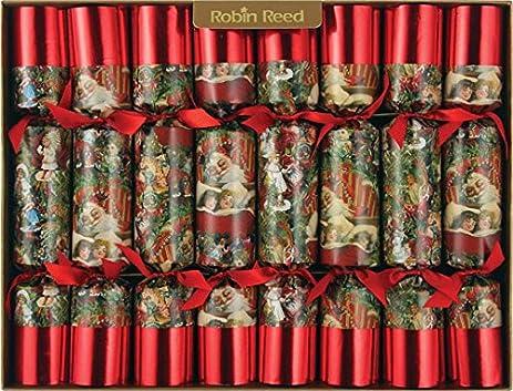 8 x 10 english christmas crackers by robin reed all snug