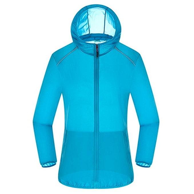 Jamemcabin Ultra Light Basic Jacket Women Men Waterproof Coat Summer Windbreaker Girls Female Jackets Hooded Blue