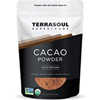 Deals on Terrasoul Superfoods Raw Organic Cacao Powder 1 Lb