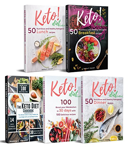 Keto Diet Cookbook: 350 Delicious Ketogenic Recipes to Burn Fat, Lose Weight, Become Healthier and Living the Keto - 350 Lights Tips Clear