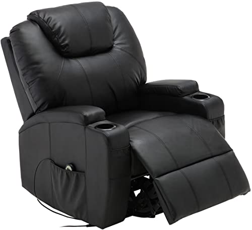 MTN Gearsmith New Electric Lift Power Recliner Chair Heated Massage Sofa Lounge w/R Control