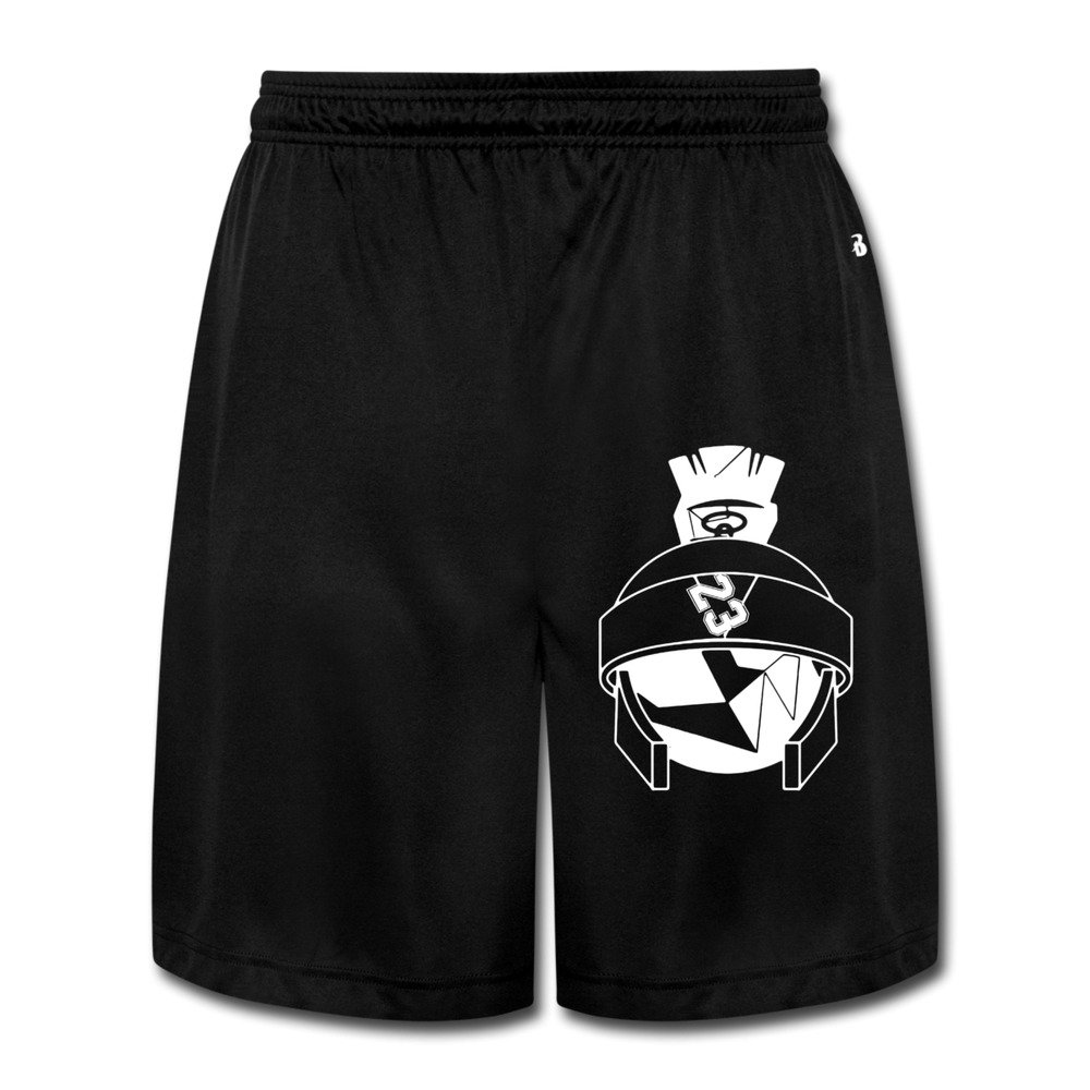 2e9984d48d7d97 M07H Men s Best Marvin The Martian Jordans Short Walkout Pants Black Size  XL Apparel
