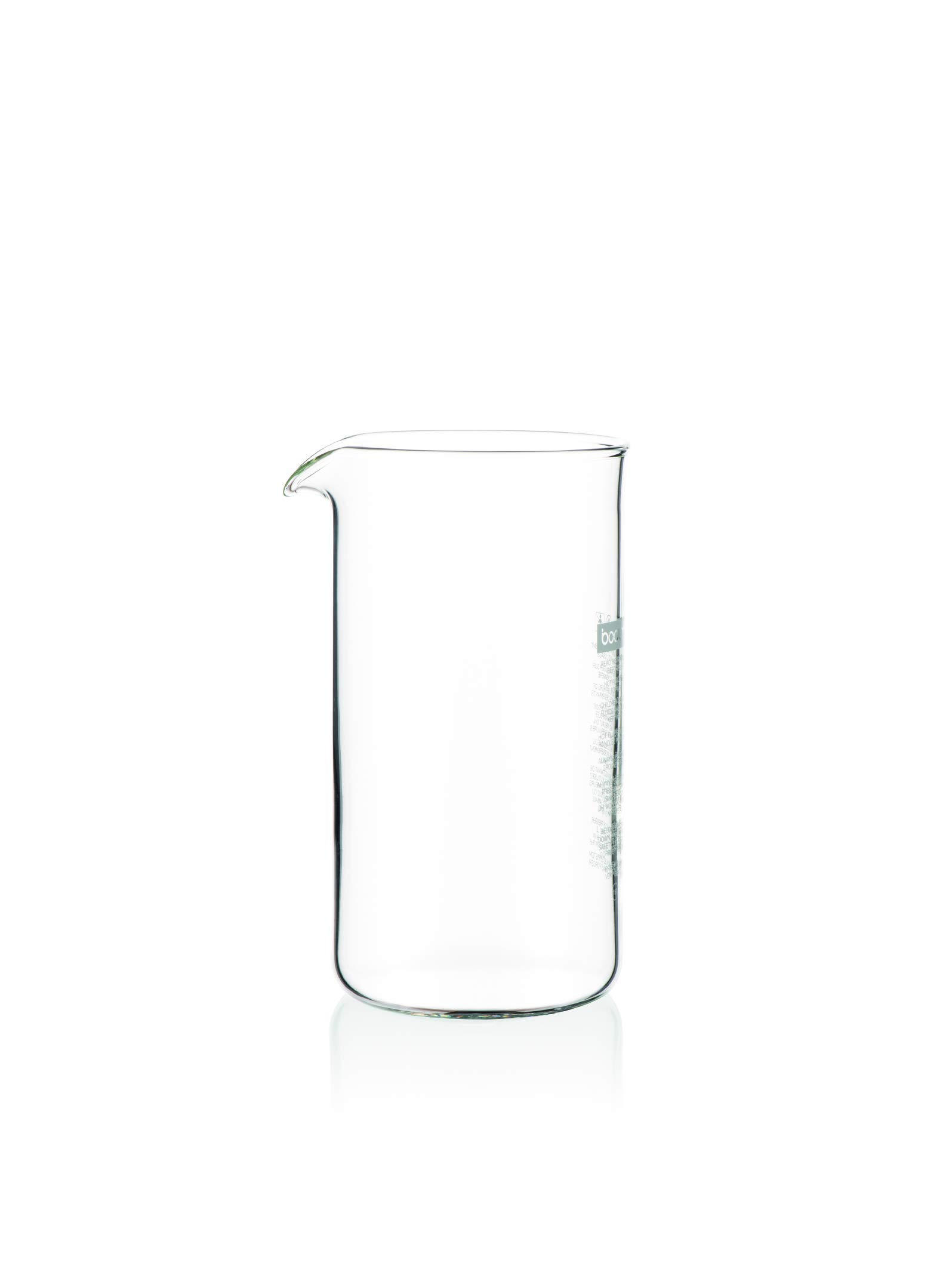Bodum Spare Glass Carafe for French Press Coffee Maker, 0.35-Liter, 12-Ounce by Bodum