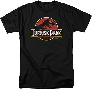 New INGEN Corporation Jurassic Movie Park Black T-Shirt S-4XL