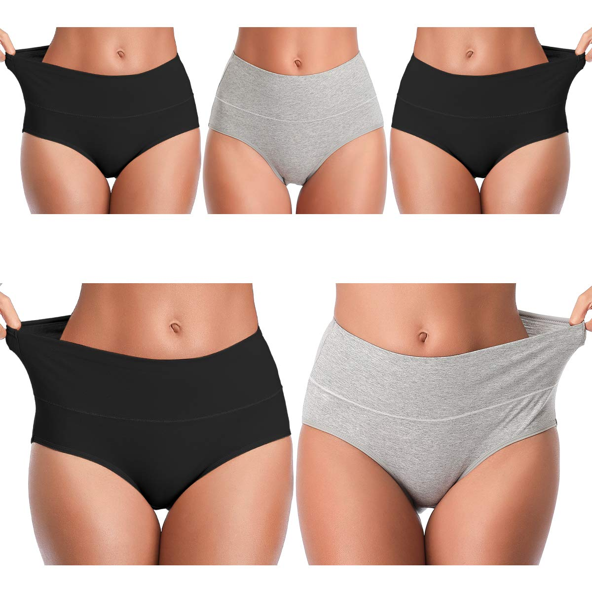 Ladies A Bite of an Apple Low Waist Underwear Panty Comfortable Brief for Women
