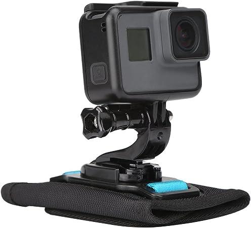 Sistema de fijaci/ón para GoPro Hero 7 Hero 2018 Hero 6//5//4//3+ Soporte de Hombro para Mochila con Tornillo Session Polarorid Xiaoyi 4K Insta 360 TELESIN