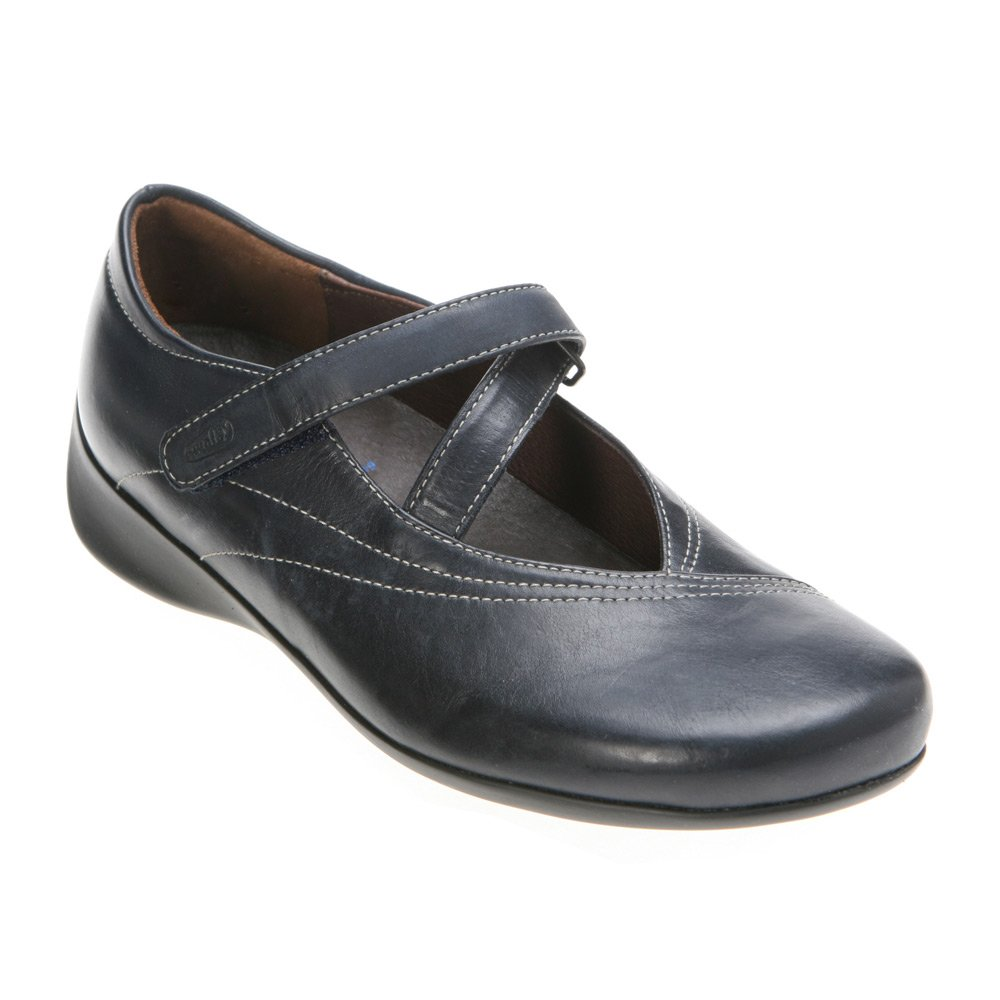 Wolky Comfort Mary Janes Silky B002E1GH4Q 36 M EU|Navy