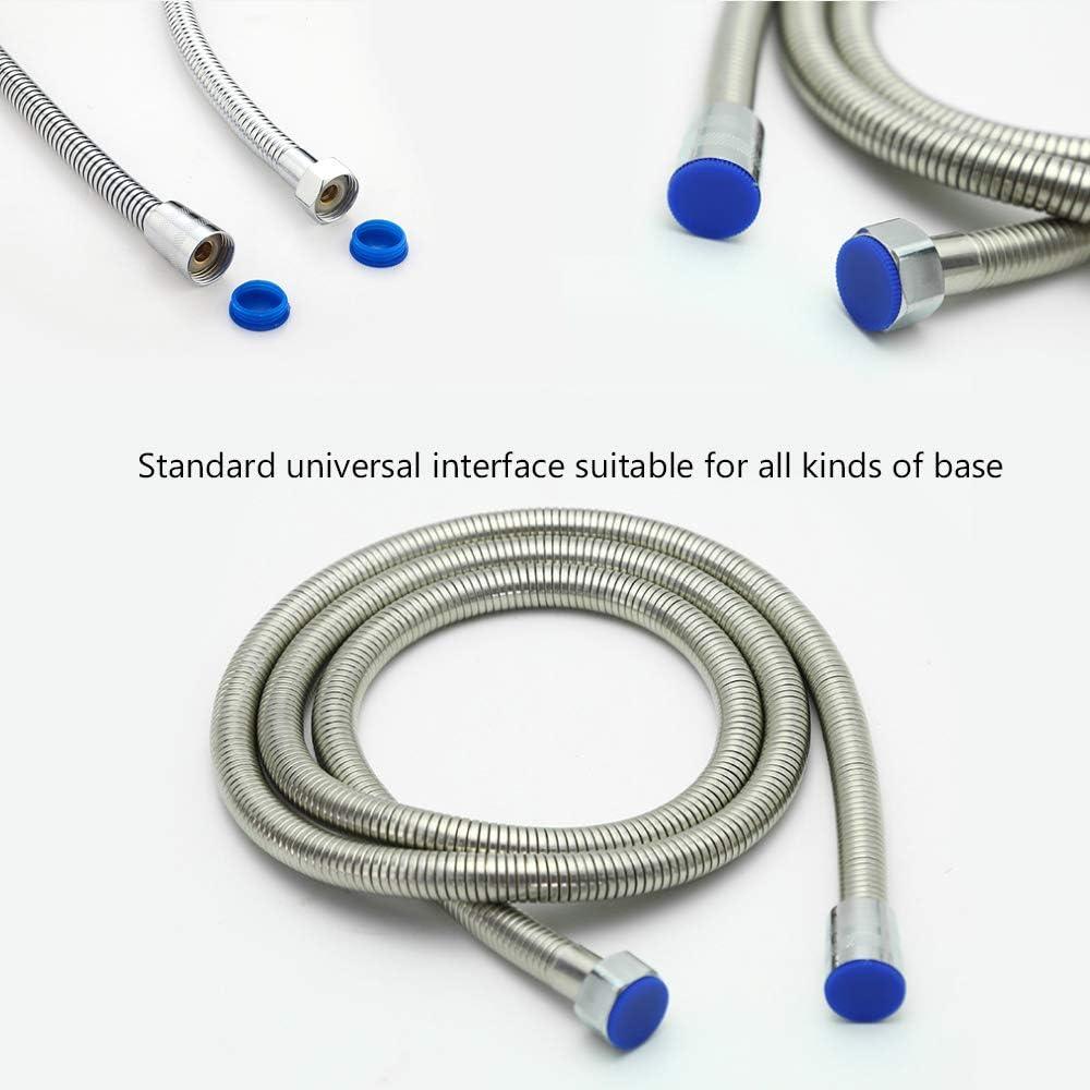 Premium Duschschlauch aus Edelstahl Flexibler Brauseschlauch EMKE Brauseschlauch 3M