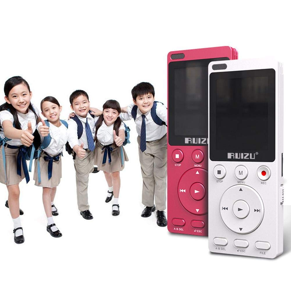 Gereton MP4 English Listening Player 8GB Built-in High Capacity Learning Machine Student Recorder Repeatable Shift Multifunction MP3 by Gereton (Image #5)