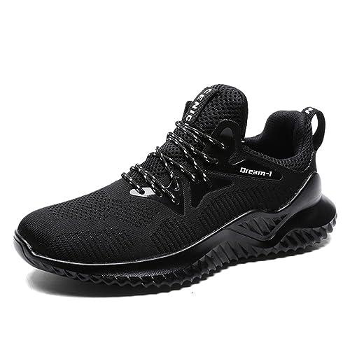 ubfen Zapatillas de Running para Hombre Zapatos para Correr Running Deportivos Deporte Zapatillas de Deporte Fitness Training Trekking Zapatillas de ...