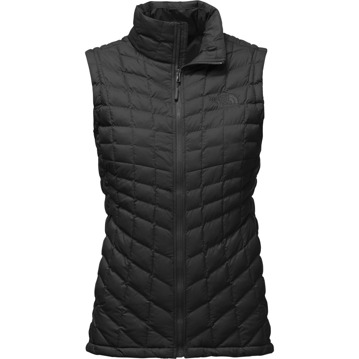 The North Face Womens Thermoball Vest TNF Black Matte - M