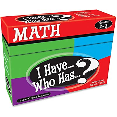 Teacher Created Resources I Have... Who Has...? Math Games Grade 2-3 (7818): Teacher Created Resources: Office Products