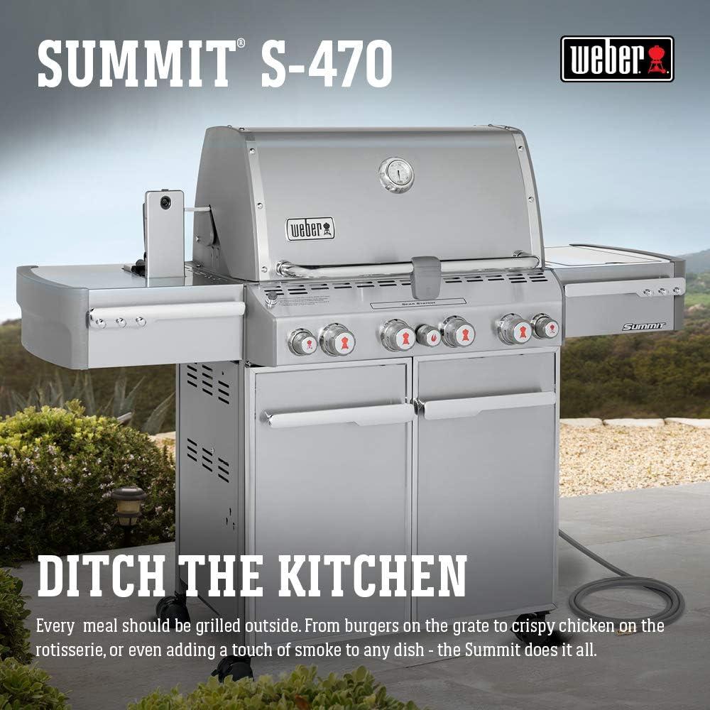 Best Natural Gas Grill - Weber Summit
