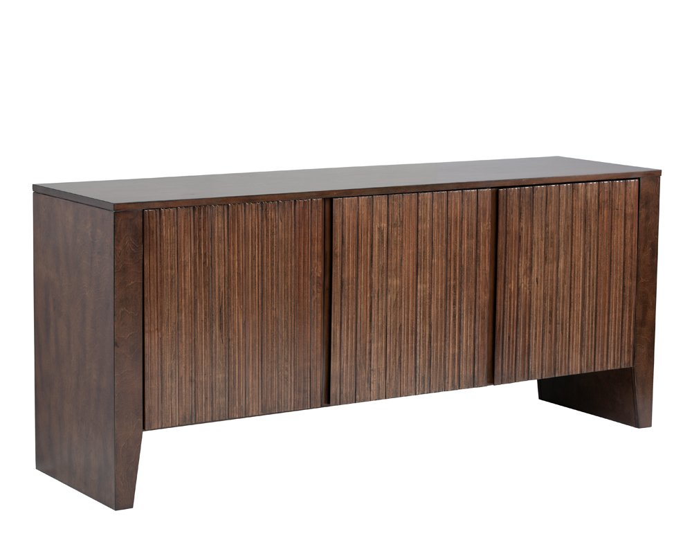 Amazon com sunpan modern raleigh sideboard buffets sideboards
