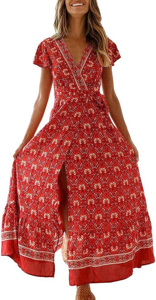 Transer- Boho Dress V Neck...