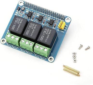 5A 250V AC// 5A 30V DV Power Relay Board Module Kits Expansion Board for Raspberry Pi A+//B+//2B//3B//3B