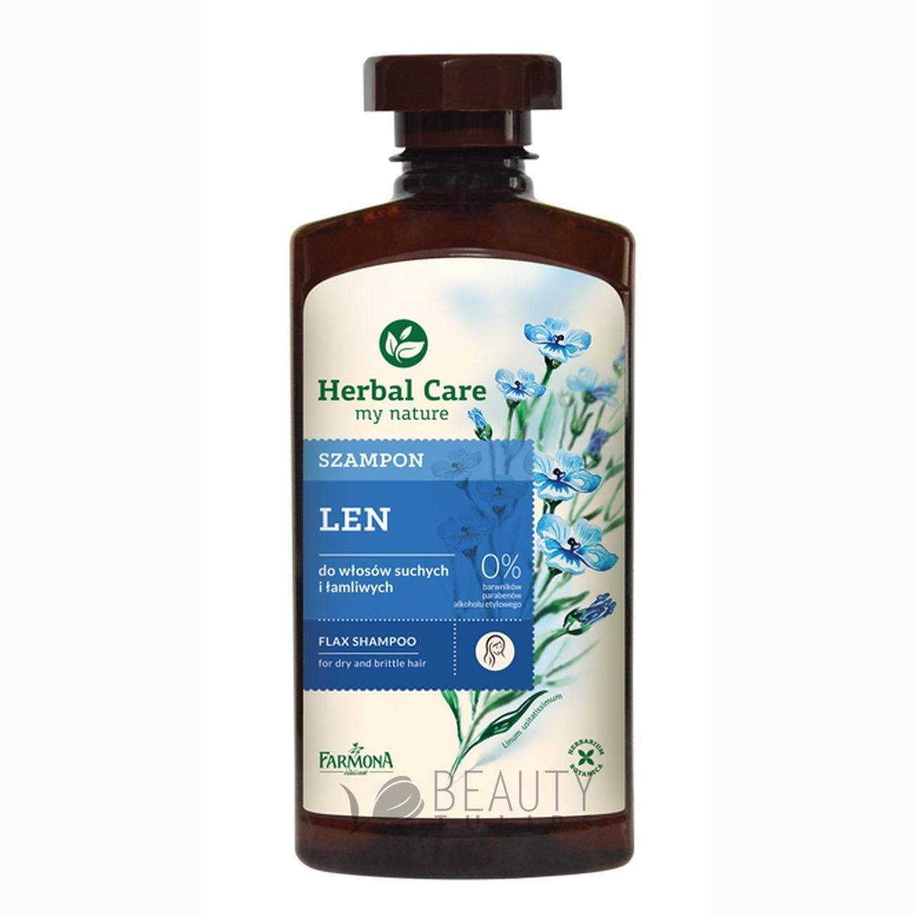 Farmona Herbal Care My Nature Flax Shampoo 330ml