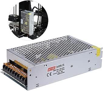 Aibecy AC 110V / 220V a DC 12V 240W 20A Potencia de Conmutación ...