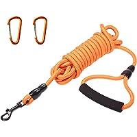 Correa de entrenamiento de perro de AMASENG, de 15 pies y 30 pies, de nailon que puede flotar en el agua, cuerda…