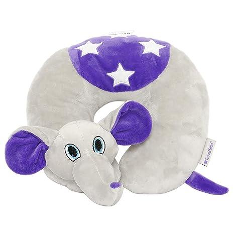 Nackenkissen Elefant.Travel Blue Kinder Nackenkissen Flappy Der Elefant Reisekissen