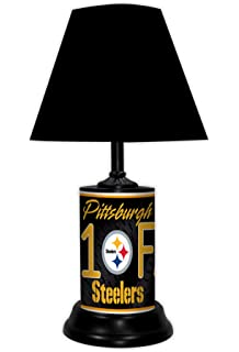 3d1b1b5d2 The Pittsburgh Steelers Louis Comfort Tiffany-Style Accent Lamp by ...
