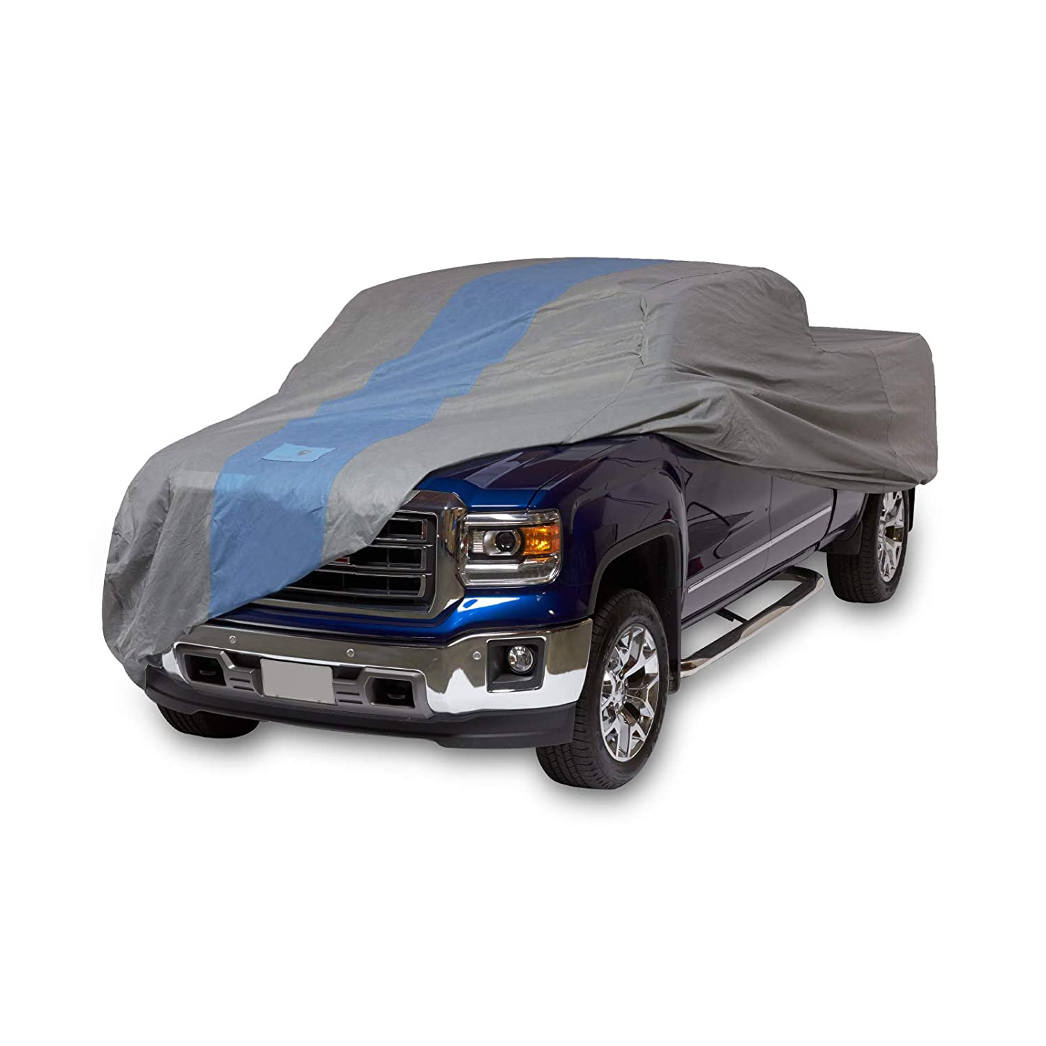 Duck Covers A1T232 Defender Pickup Truck Cover for Extended Cab Short Bed Trucks up to 19' 4'