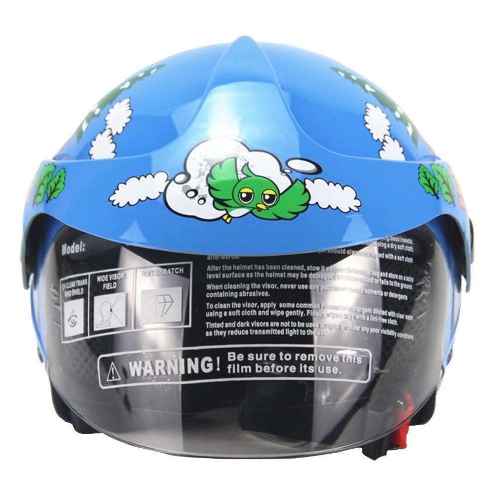 Amazon.es: Welltobuy Casco de niños de la Personalidad Motocicleta Harley batería Coche Hombres y Mujeres bebé Casco de Seguridad