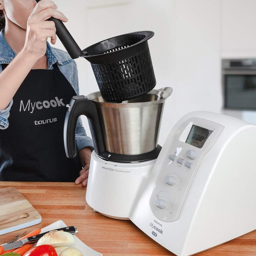 Taurus Mycook One Robot de Cocina Inteligente Multifunción, 1600 W ...