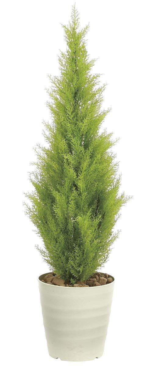 造花 観葉植物 「ゴールドクレスト 130cm」 インテリアグリーン 鉢植え B07N4LKZC5