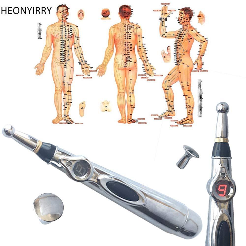 Elektronische Akupunktur Stift Schmerzlinderung Therapie Stift Akupunktur Meridian Energie Heilen Massage K/örper Stift