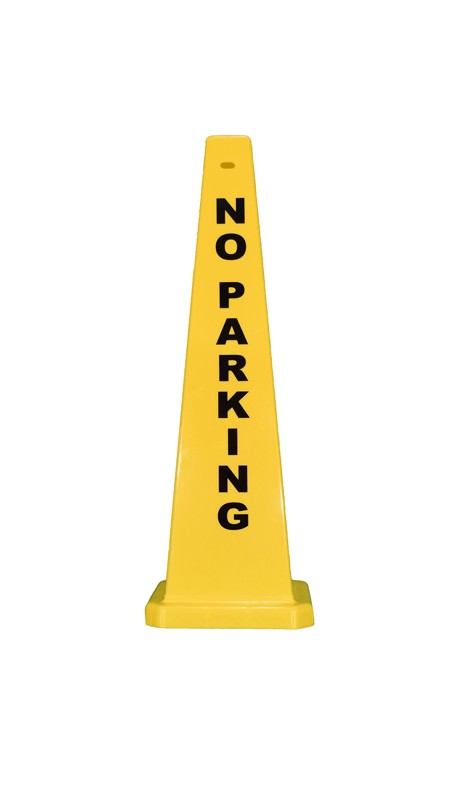 Cortina Safety Products 03-600-11 Lamba Cones''No Parking'', 36'', Yellow (Pack of 5)
