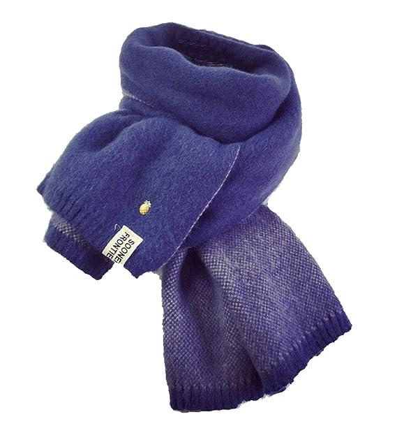 YJZQ Femme écharpe en laine écharpe cachemire artificielle Foulard à Tricot  Écharpe hiver contre froid Foulard Long décore ananas écharpe élastique  chaud  ... 19ec6c574f1