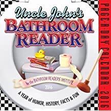 Uncle John's Bathroom Reader Page-A-Day Calendar 2016