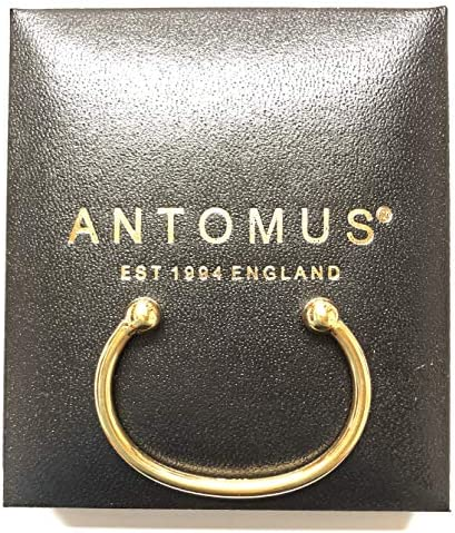 ANTOMUS® HANDMADE 18k GOLD VERMEIL BABY BANGLE - BRITISH MADE - REAL SOLID 925 STERLING SILVER