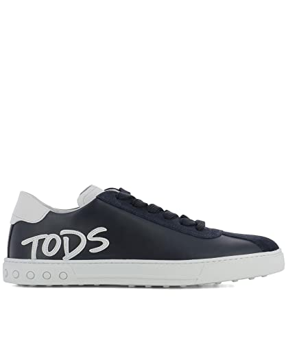 Leder Xxm0xy0y170ixm0zwr Tod's Herren Blau Sneakers 29WHIDYeE