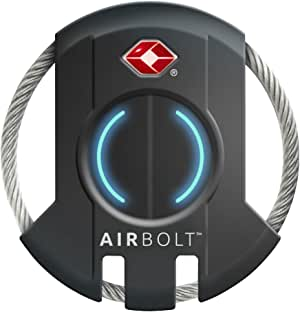 Hampton 179-45001 Airbolt Bluetooth Smart Luggage Lock, Black