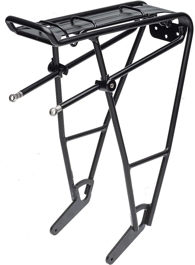 Black Topeak Explorer Rear Rack with Spring Clip