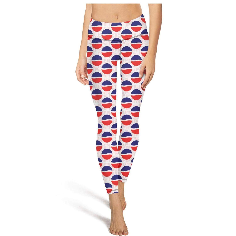 ZTUO Pepsi Yoga Leggins Pants Womens Colorful High Waist ...