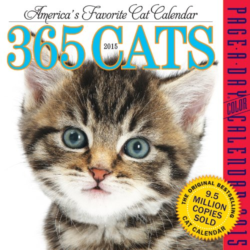 365 Cats 2015 Page-A-Day Calendar](Cats Page A Day Calendar 2015)