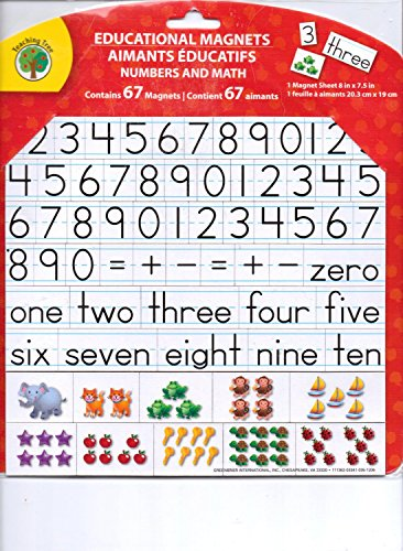 UPC 616175986867, Educational Word & Letter Magnets ~ Numbers and Math